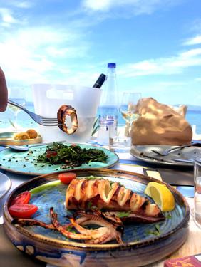 Fresh Grilled Calamari