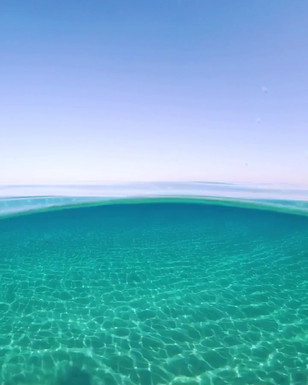 Incredibly clear water
