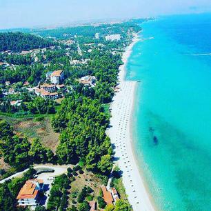 The beach paradise of Agora