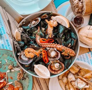 Aegea Seafood pan