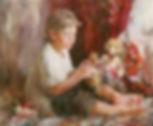 Vinogradova Portret sana Olega s fol`klo