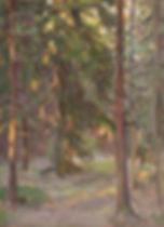 V lesu Vecher cbo 40 30 1976.jpg