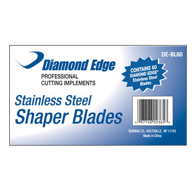 Diamond Edge Shaper Blades