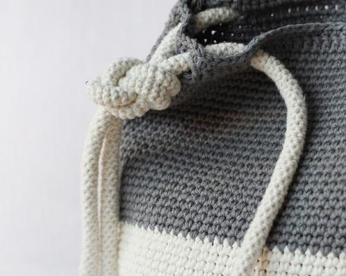 Crochet Pattern Bryce Crochet Bag Crochet Rope Straps