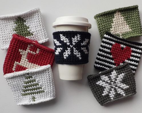 Crochet Pattern Linden Coffee Cozy