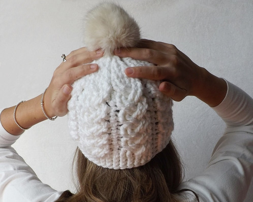 Crochet Pattern Holden Cable Crochet Hat