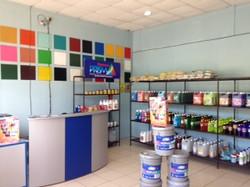 Interior tienda Futec Industrial