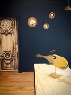 Miroirs et sculptures