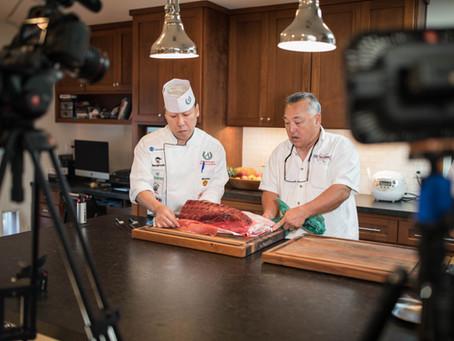 Cutting Mexico Bluefin