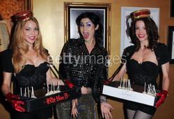 Kat Von D with Bella's Dolls