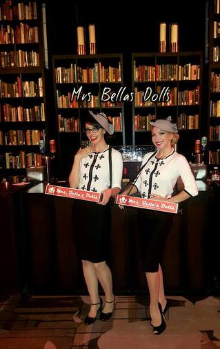 Retro Library Event with Bella's Dolls