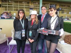 Bo Derrik with Bella's Dolls