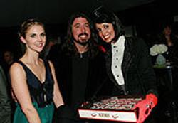 Branded tray at Spirit Awards