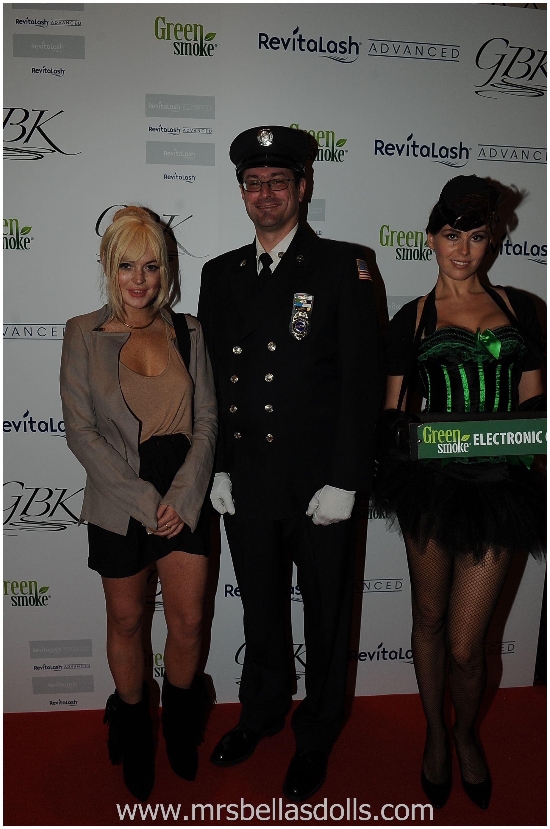 New York with Lindsey Lohan