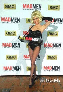 Miss Kitty for MAD MEN