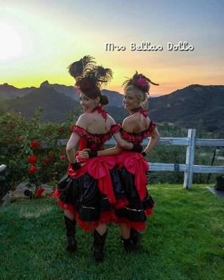 Saloon Girl Dolls- Yee-haw!