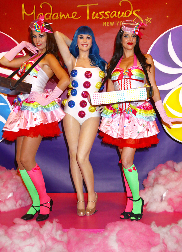 candy girls Madam Tussands