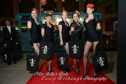 Branded costuming at Fifi Awards