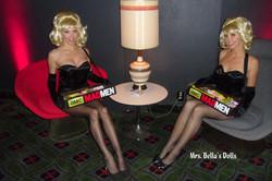 retro cigarette girls