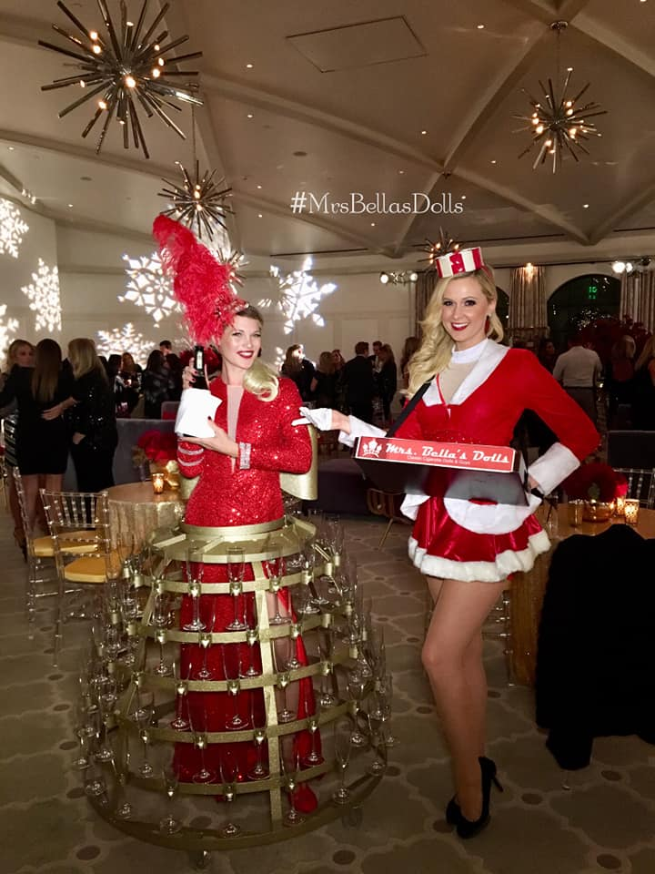 Holiday Champagne Skirt