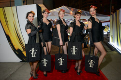 cigarette girls at fifi awards New Y