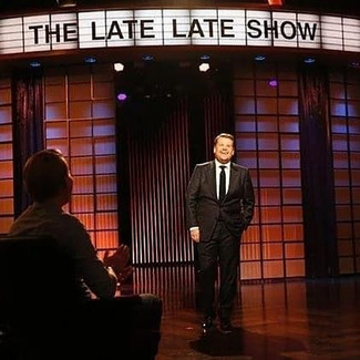 Were back @latelateshow with James Corden