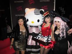 Candy Girls promote Sephora