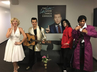 Did you see us on The Late Late Show?