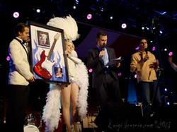 Showgirl on Jimmy Kimmel