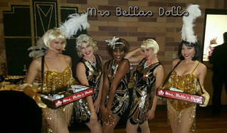 Golden Gatsby Girls