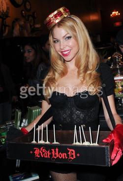 Kat Von D branded tray