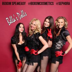 Bella's Dolls for Buxom cosmetics