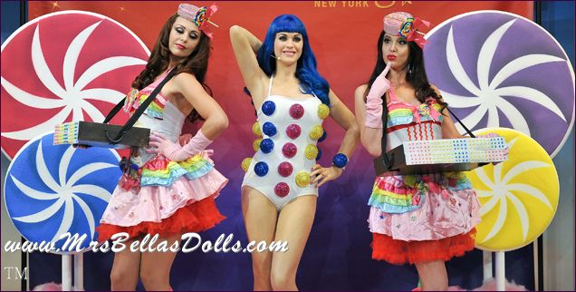 candy girls with Katy Perry