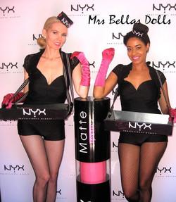 NYX product branding