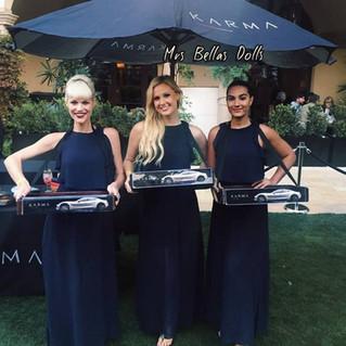 Karma Cars & Champagne Skirts!