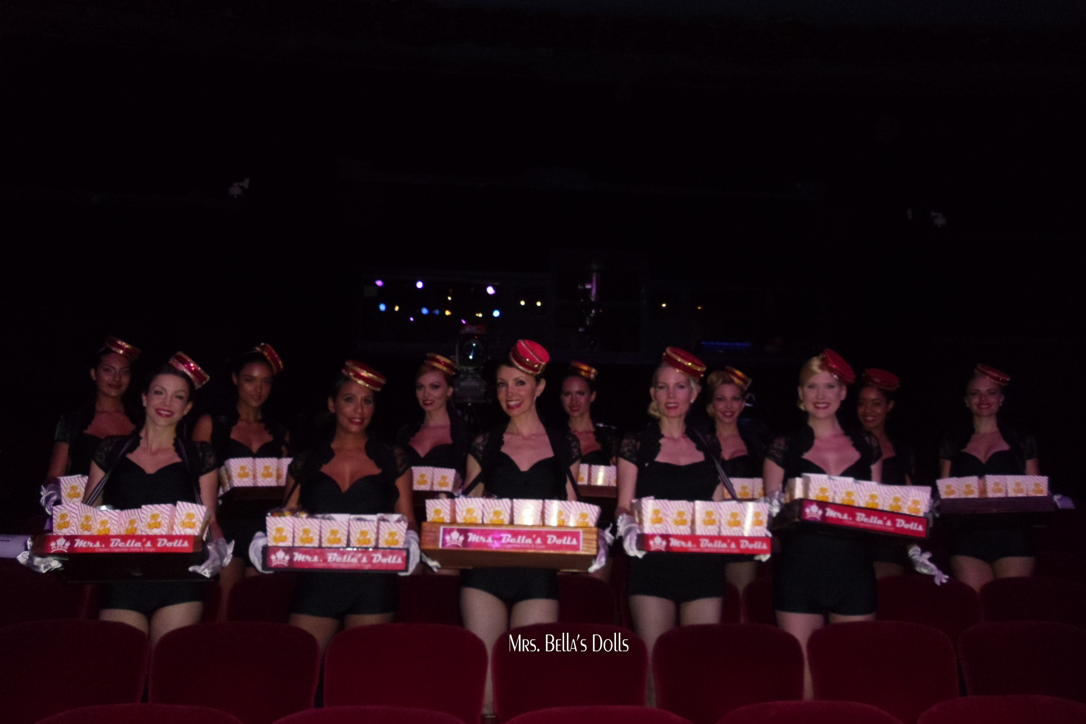 pop corn girls Bella's Dolls
