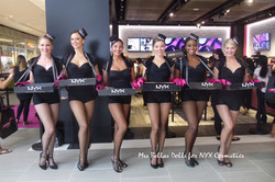 promotional models for NYX