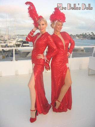 We're sailing away- glam style