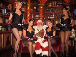 Even Santa wants his photo with us!