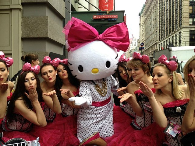 Bella's Dolls with Hello Kitty
