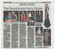 The Wall St Journal with Bella's Dol