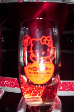 Branded Champagne glass