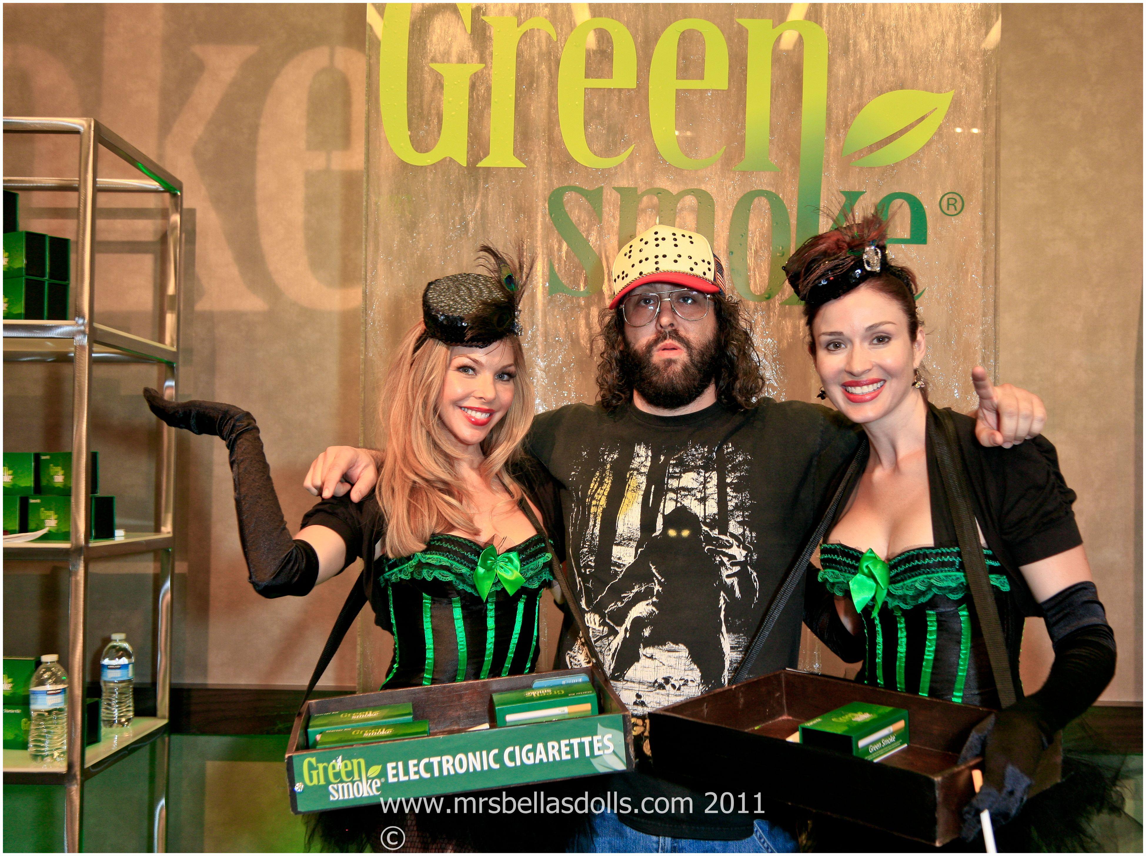 cigarette girls at Emmys