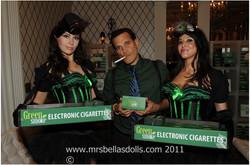 cigarette girls LA Emmys