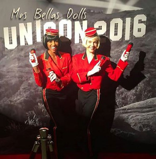 Bellhop Dolls today at UCLA!