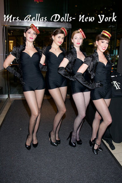Retro candy girls at Fifi