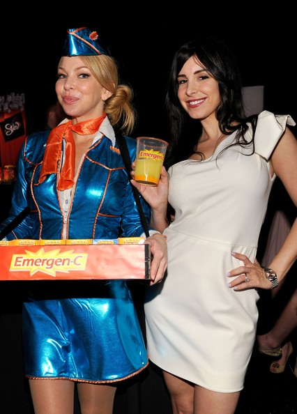 Emergen-C branded costume and tray
