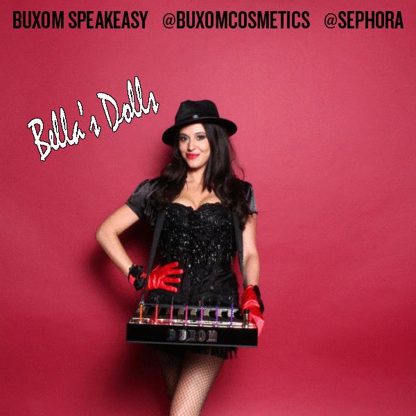 costume branding for Buxom