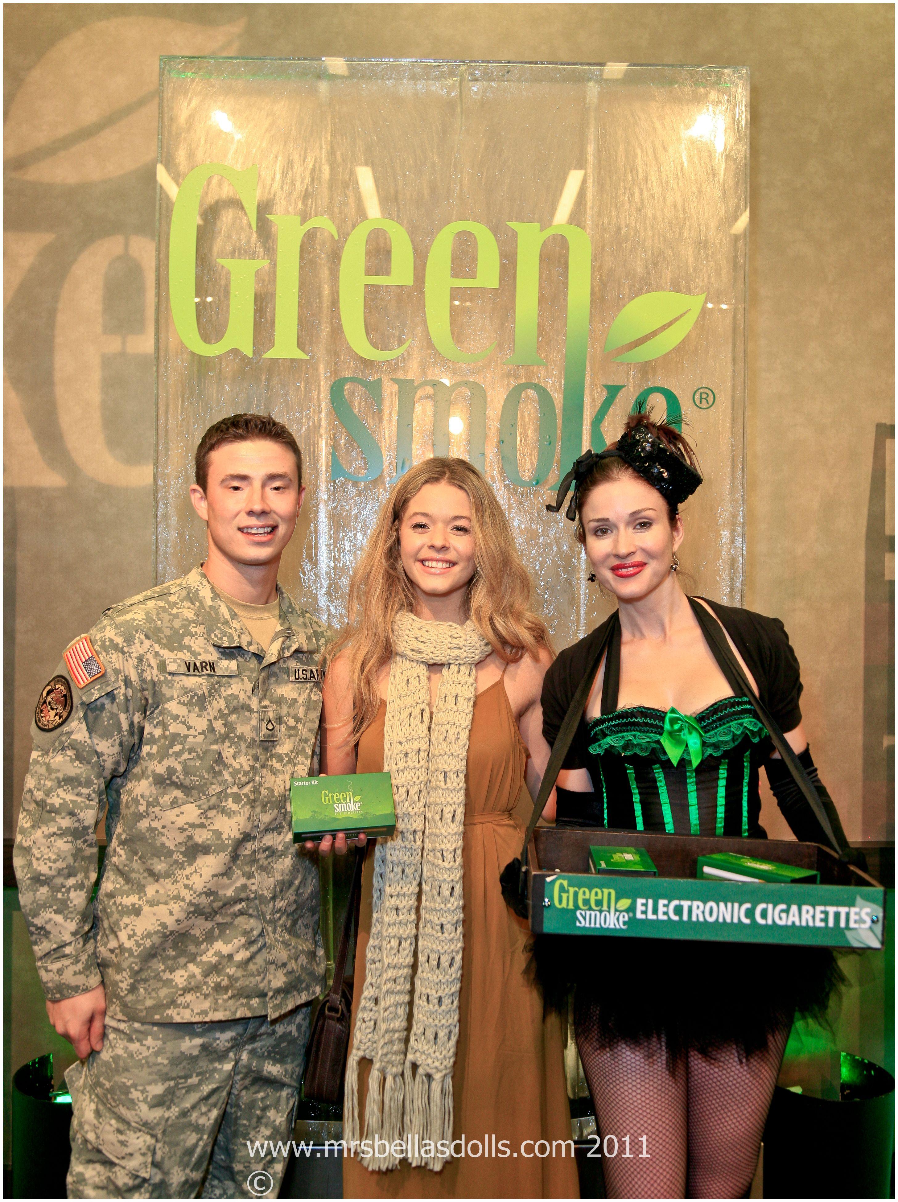 candy girls green smoke