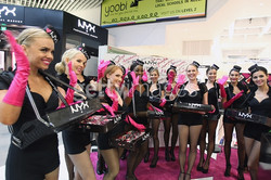 candy girls with branded costumes